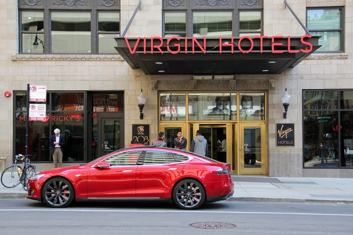 A Look Inside Richard Branson's First Virgin Hotel in Chicago