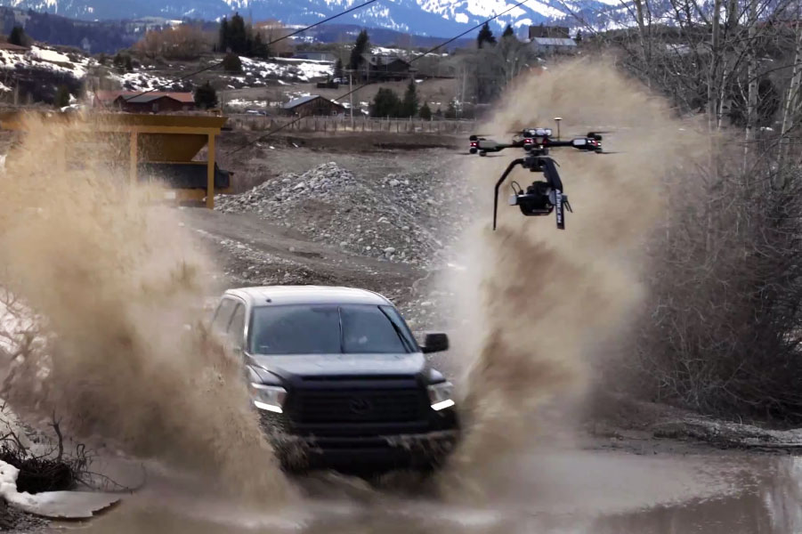 Watch Ultra HD Footage From the First Ever Drone-Mounted Phantom Flex4k