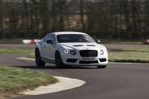 Chris Harris Attempts to Drift in a 2,195kg Bentley GT3 R