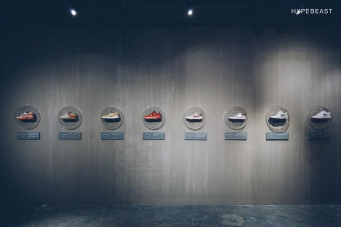 "CLOT x Nike ""10th Anniversary"" Installation @ X158"