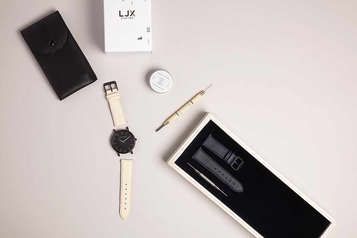 Bespoke Watch Design at the Larsson & Jennings Store in London