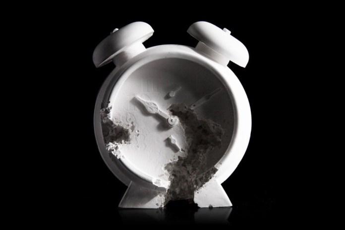 Daniel Arsham's 'Future Relic 03 - Clock'