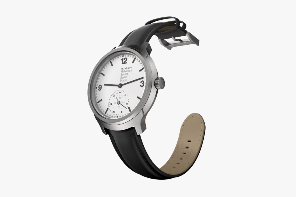 The Design Process of the Mondaine Helvetica 1 Smartwatch