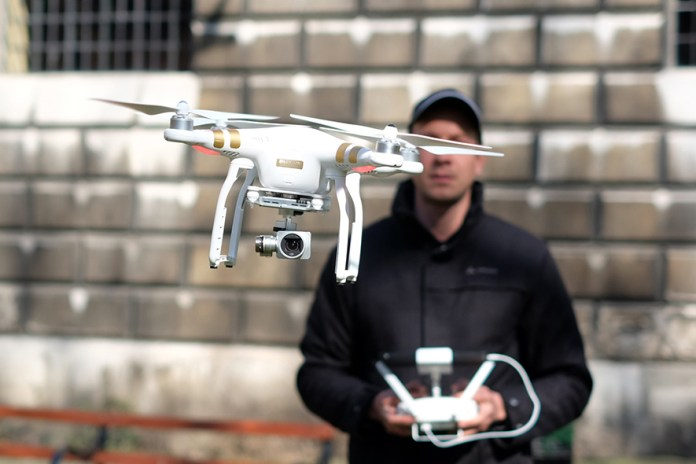 DJI Phantom 3 Drone Records 4K Resolution Footage