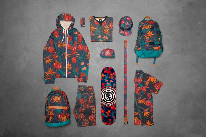 "Element 2015 Spring ""Sketch Floral"" Collection"