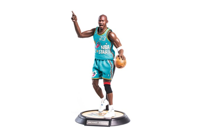 ENTERBAY Michael Jordan 1996 NBA All-Star Game 1/6 Scale Figurine