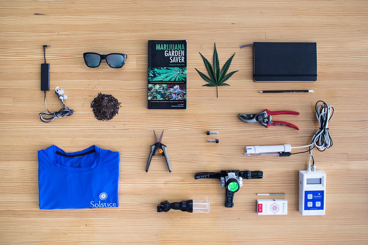 Essentials: Miles Jonard (Head of Production, Cannabis Studio Solstice Grown)