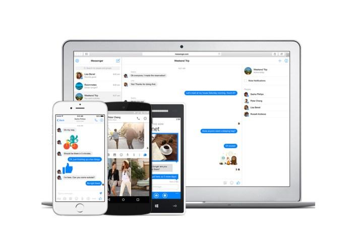 Facebook Debuts Dedicated Messenger Website