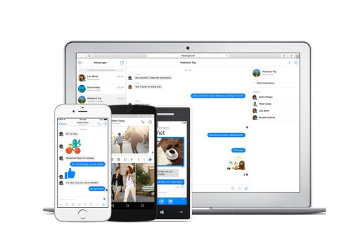 Facebook Debuts Dedicated Messenger Website