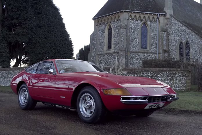 Ferrari 365 GTB/4 Brings Joy to Father and Son