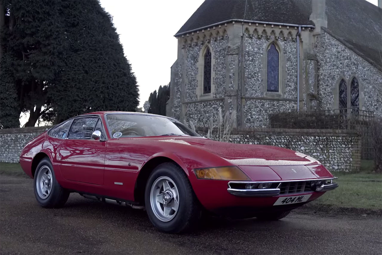 Ferrari 365 GTB/4 Brings Joy to Father and Son