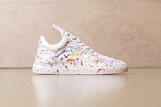 "Filling Pieces Low Top ""Splash"""