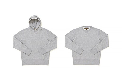 Freemans Sporting Club x Loopwheeler 2015 Spring/Summer Sweatshirts