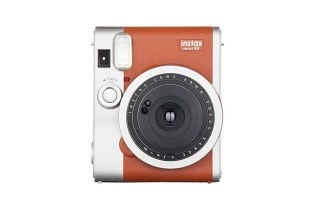 "Fujifilm Releases New Instax Mini 90 Camera in ""Brown Leather"""