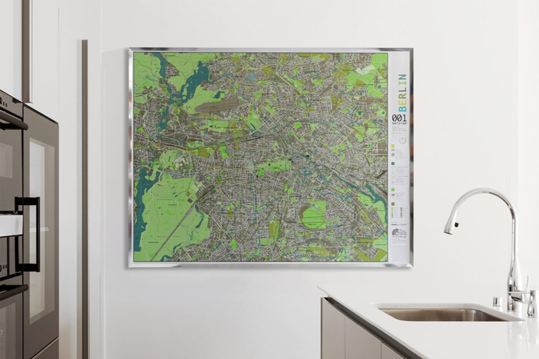 Future Mapping Company Creates Stunning Maps That Are Both Informative and Decorative