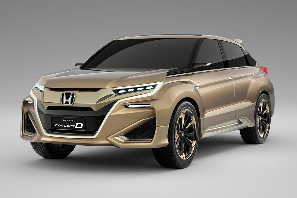 Honda Debuts Concept D Crossover at the Shanghai Motor Show