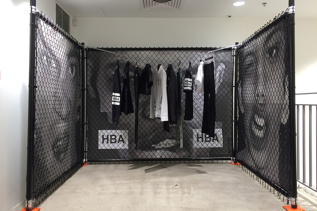 Hood By Air 2015 Spring Installation at Dover Street Market New York