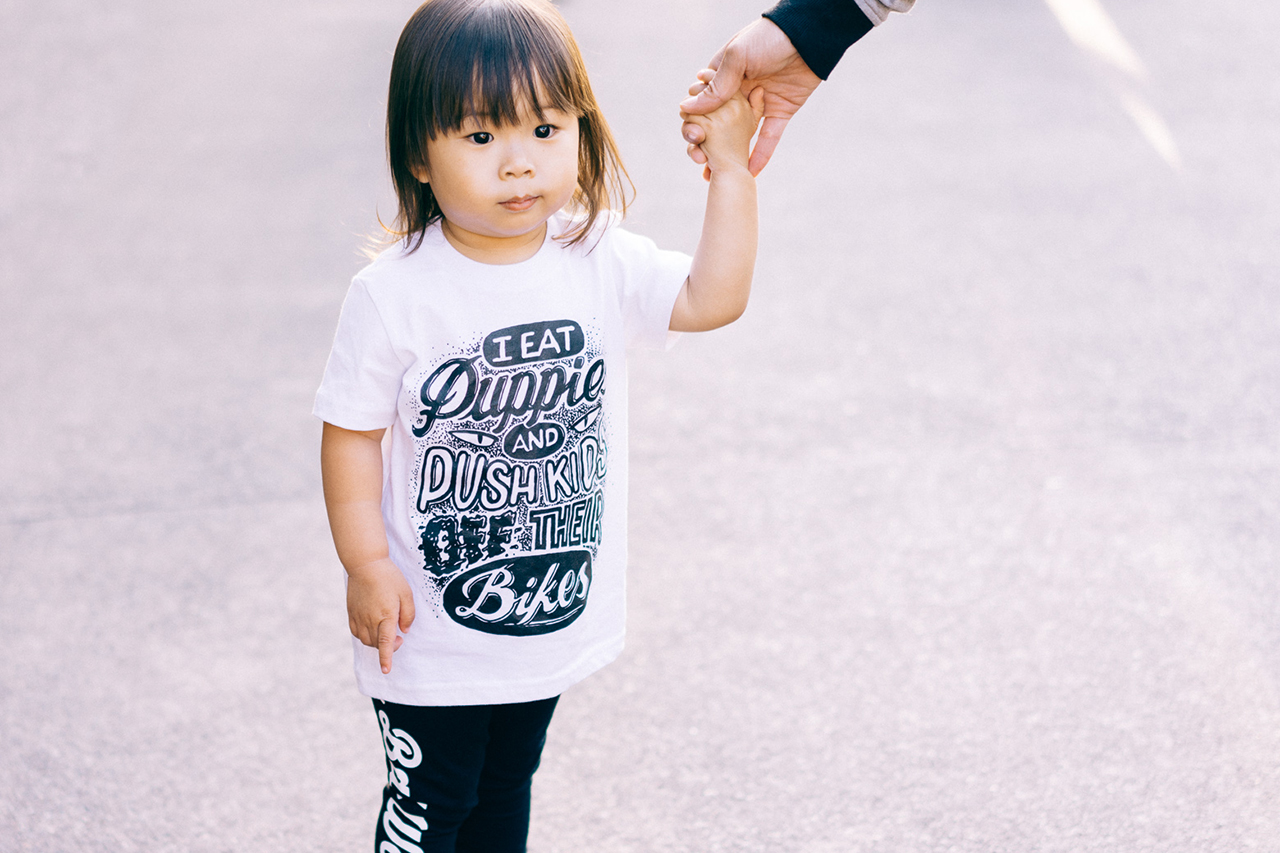 #hypebeastkids: Rylsee x BIG BAD WOLF T-Shirt
