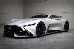 Infiniti Creates the Vision Gran Turismo Concept in Real Life