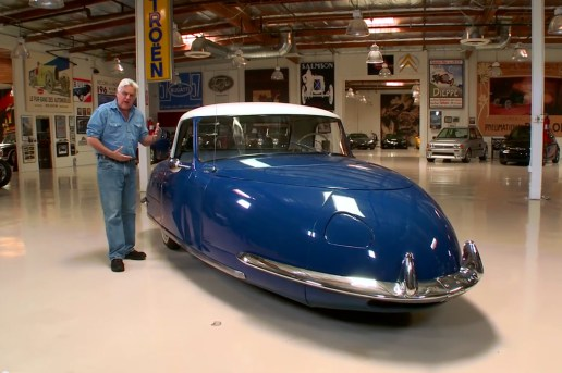 Jay Leno Takes a Ride in a 1948 Davis Divan