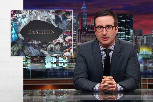 John Oliver Analyzes the Problems With Fast Fashion