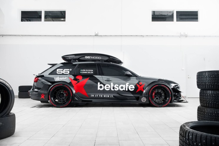 Jon Olsson Unveils His New Audi RS6 DTM