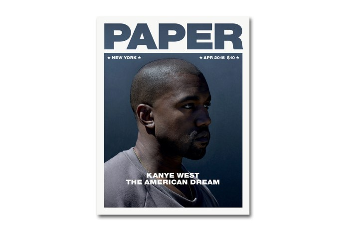 "Kanye West in His Own Words for the 2015 ""American Dream"" Issue of 'PAPER'"