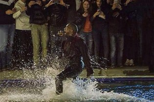 Kanye West's Surprise Concert in Armenia Was Shut Down After He Jumped Into a Lake