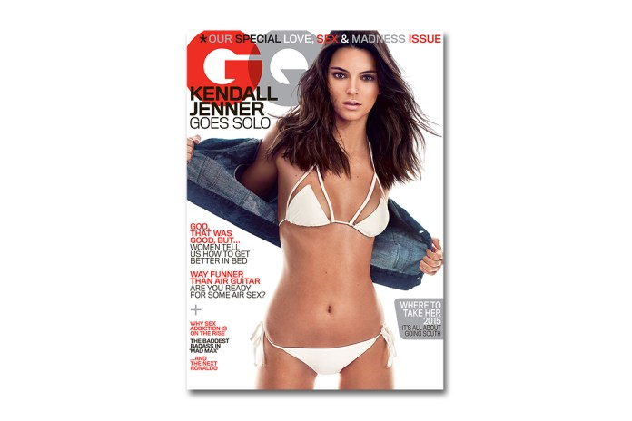 Kendall Jenner Covers the 2015 May Issue of 'GQ'