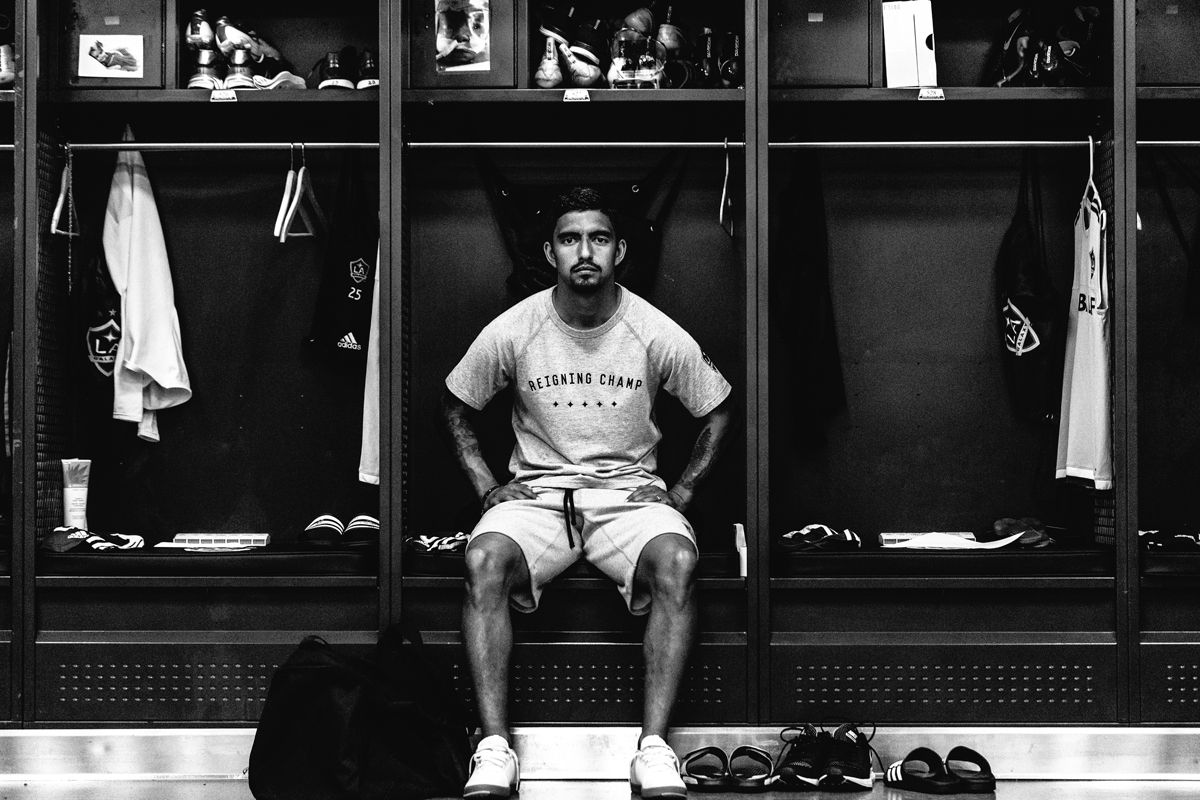 LA Galaxy x Reigning Champ MLS Cup Champions Lookbook