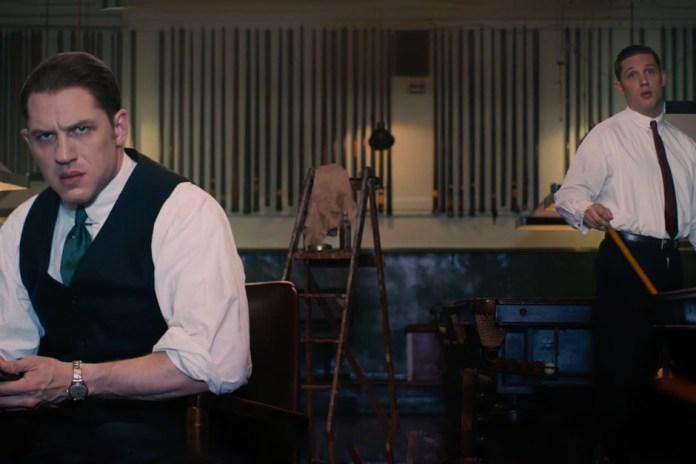 'Legend' Official Trailer Starring Tom Hardy