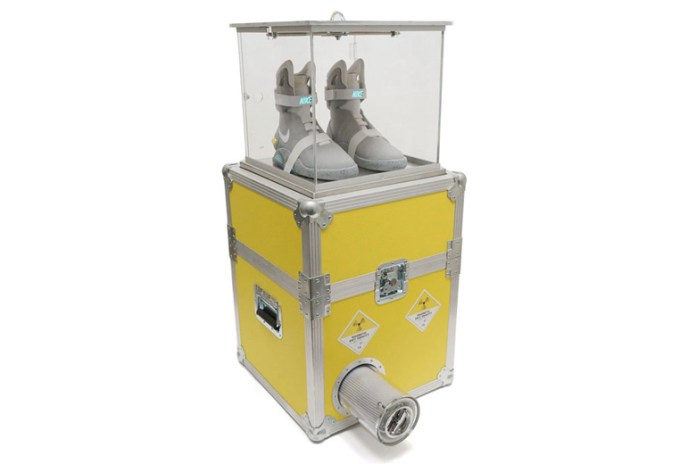 Limited-Edition Plutonium Display Case for the Nike MAG