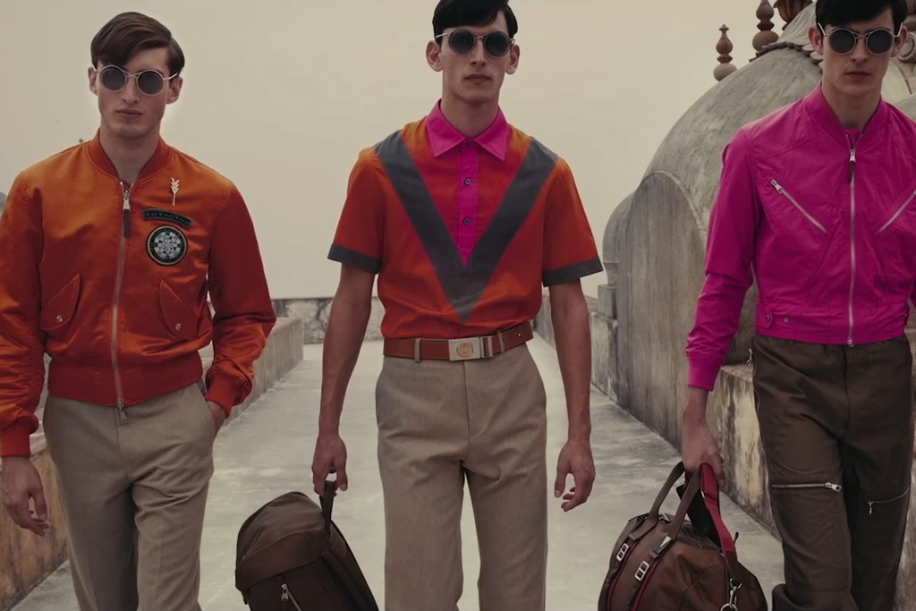 Louis Vuitton 2015 Spring/Summer Men's Collection Video