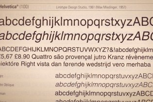 'Magazine B' Explores the History of Helvetica