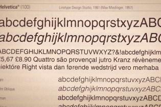 'Magazine B' Explores the History of Helvetica