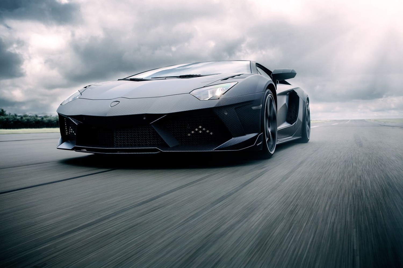 "MANSORY Carbonado ""Black Diamond"" Lamborghini Aventador ..."