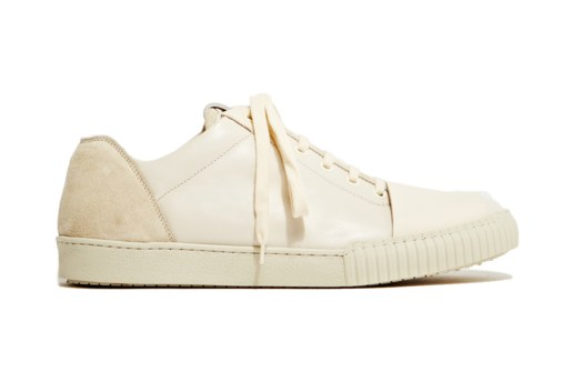 Marni Nappa Leather Off-White Sneakers