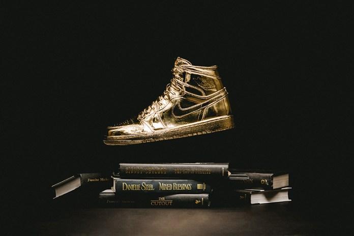 "Matthew Senna x Wish ATL ""Higher Learning: Study 001"" Air Jordan Exhibition"
