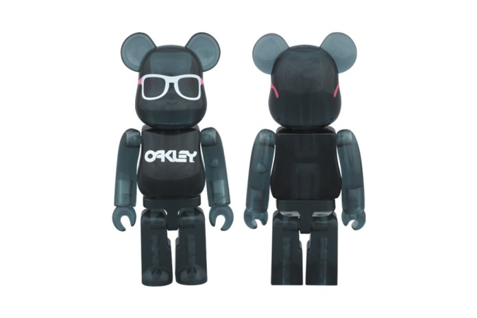 Medicom Toy x Oakley Frogskins Bearbrick for BEAMS