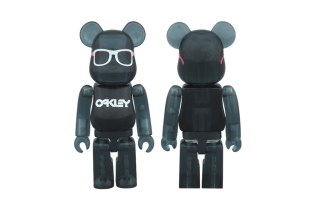 Medicom Toy x Oakley Frogskins Bearbrick for BEAMS