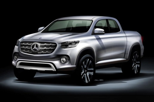 Mercedes-Benz Pickup Truck to Be Based on Nissan NP300