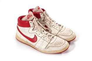 Michael Jordan's Rookie Season Nikes Sell for $71,000 USD