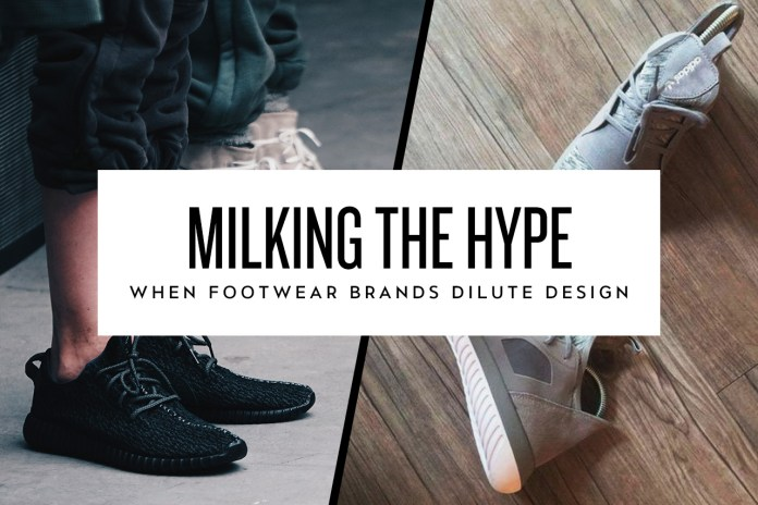 Milking the Hype: When Footwear Brands Dilute Design