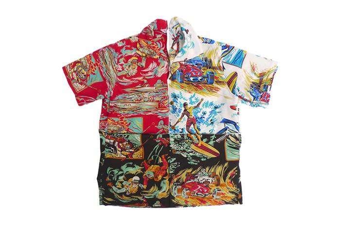 "Mister Freedom x SUN SURF 2015 Spring/Summer ""Action Packed Rock'n'Roll"" Shirts"