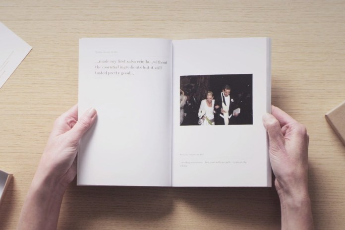 """""""My 365 Days in Print"""" Creates Timeless and Elegant Printed Journals Based on Your Facebook Posts"""