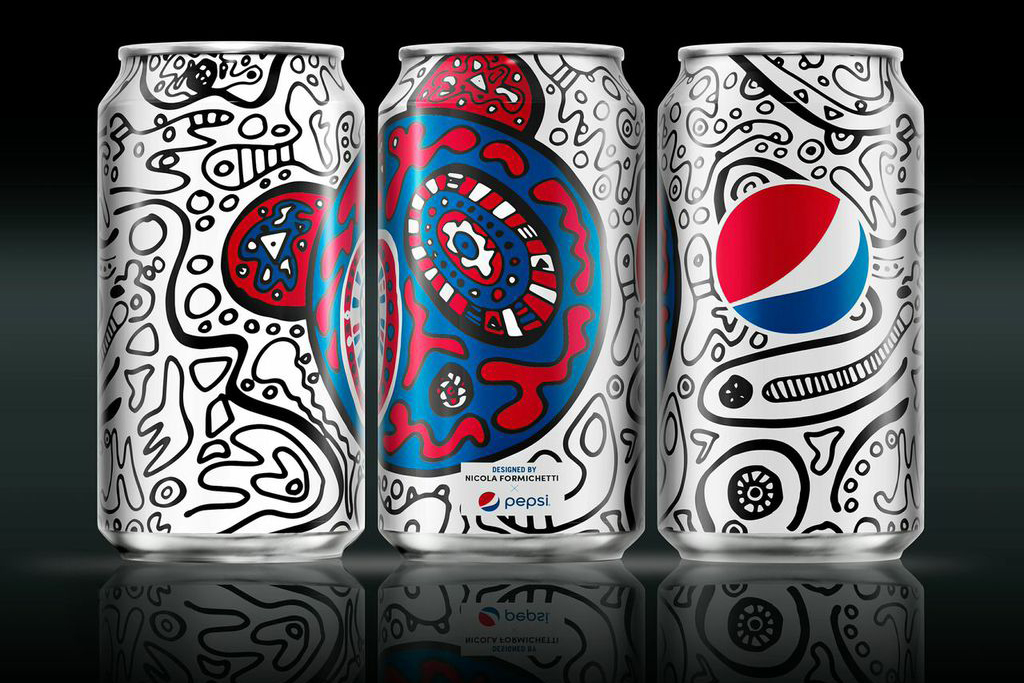 "Nicola Formichetti Puts a ""Nicopanda"" Twist on the Pepsi Can"