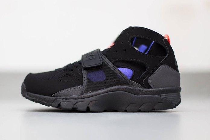 Nike Air Trainer Huarache Black/Anthracite-Persian Violet
