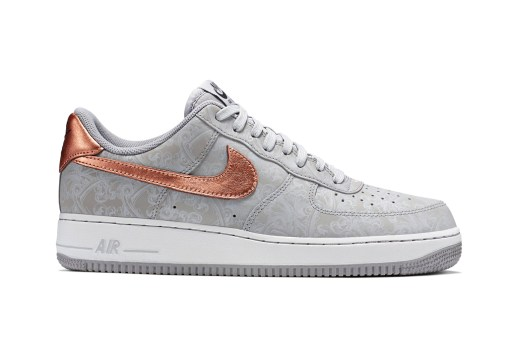 Nike Air Force 1 LV8 Wolf Grey/White-Metallic Red Bronze