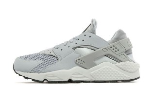 Nike Air Huarache Wolf Grey/Pure Platinum JD Sports Exclusive