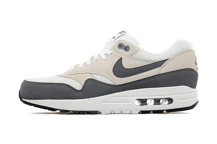 Nike Air Max 1 White/Dark Grey-Black JD Sports Exclusive